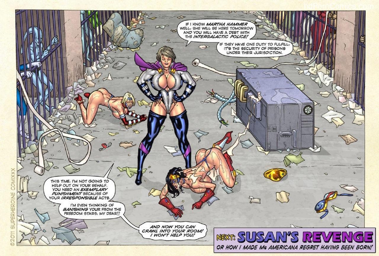Freedom Stars – Prison Heat comic porn