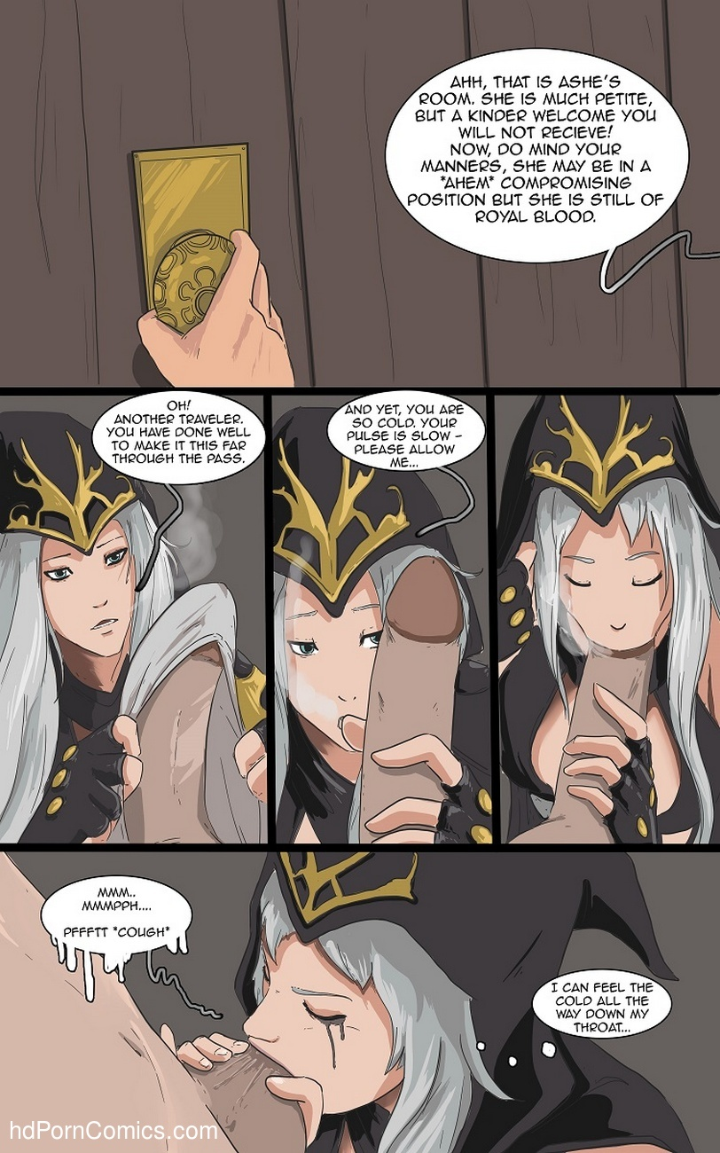 League of legends sex comics