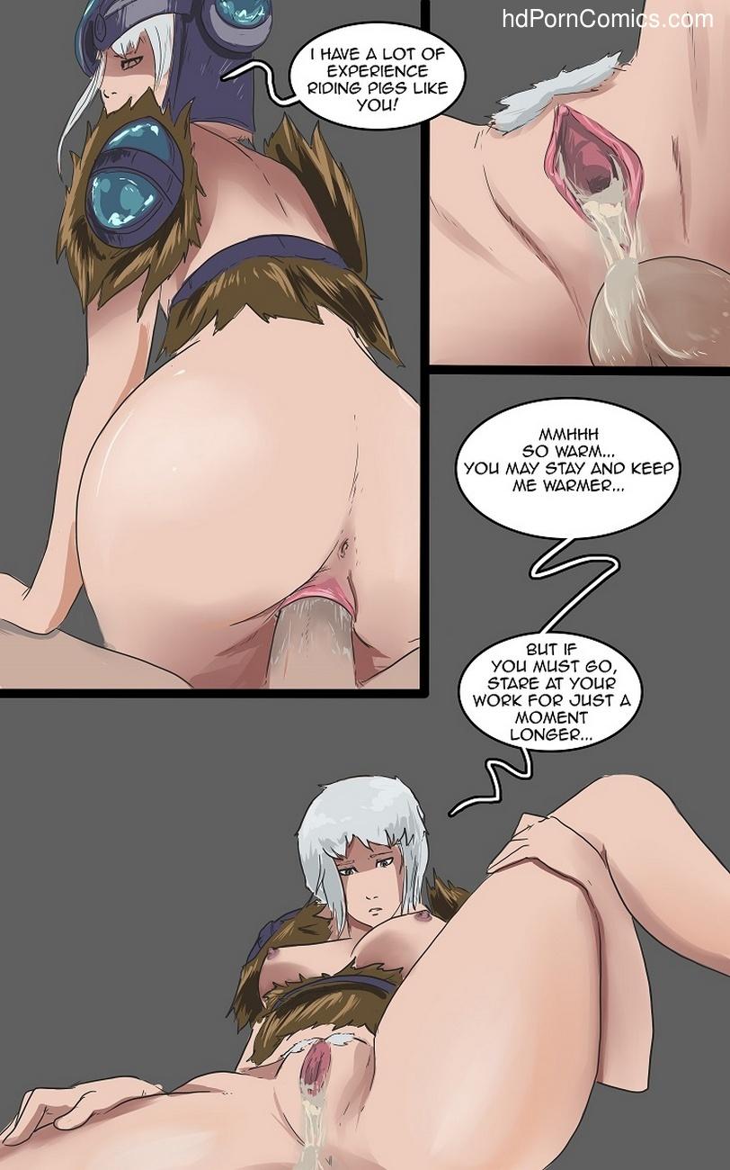 Freljord Brothel 5 free sex comic