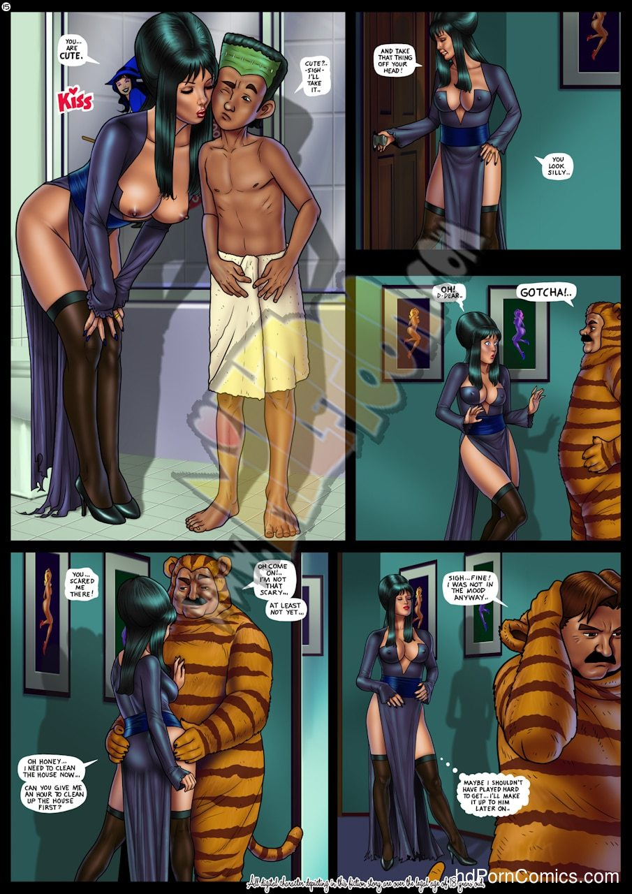 Fright Night Porn Comics15 free sex comic