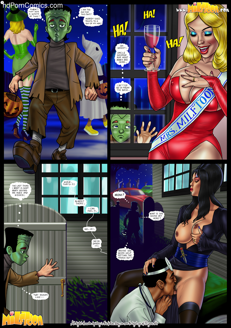 Fright Night Porn Comics2 free sex comic