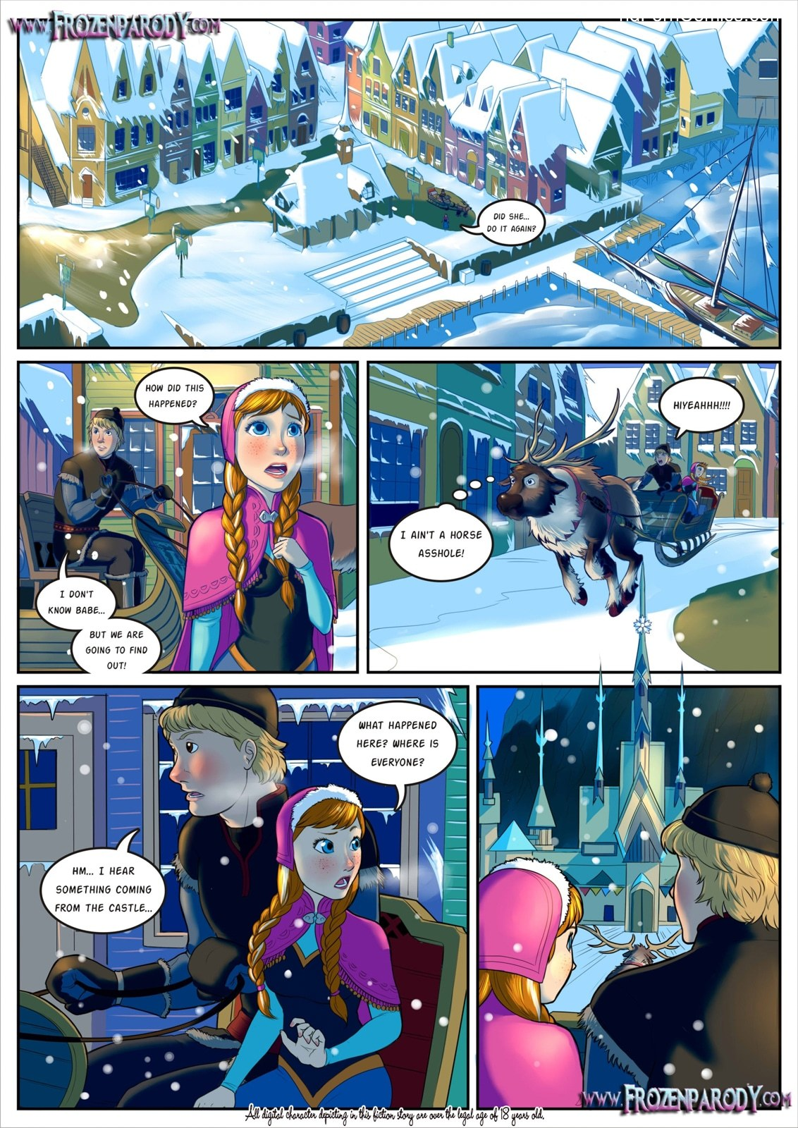 Frozen Parody 13 free sex comic