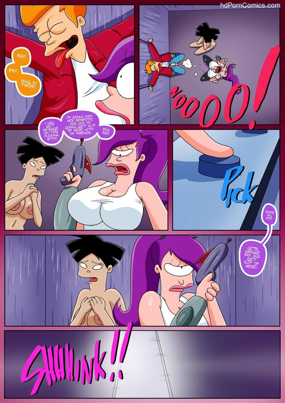 Futurama Sextopia18 free sex comic