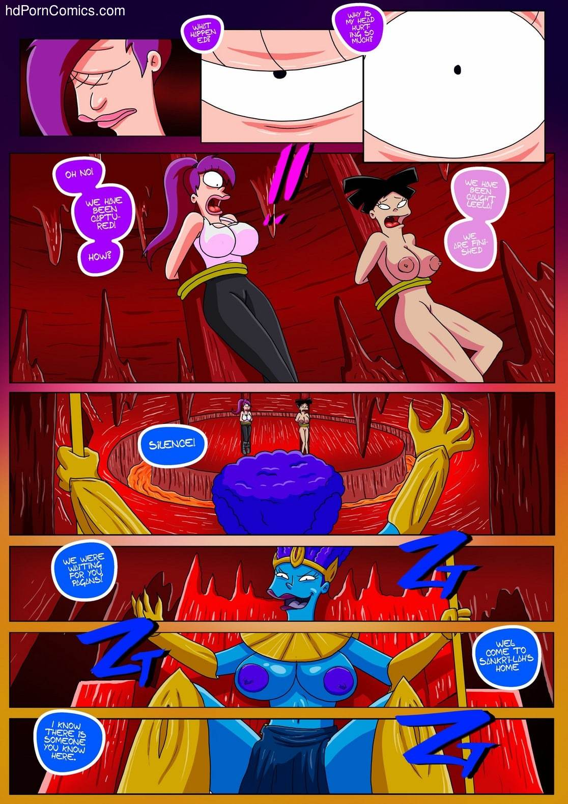 Futurama Sextopia24 free sex comic