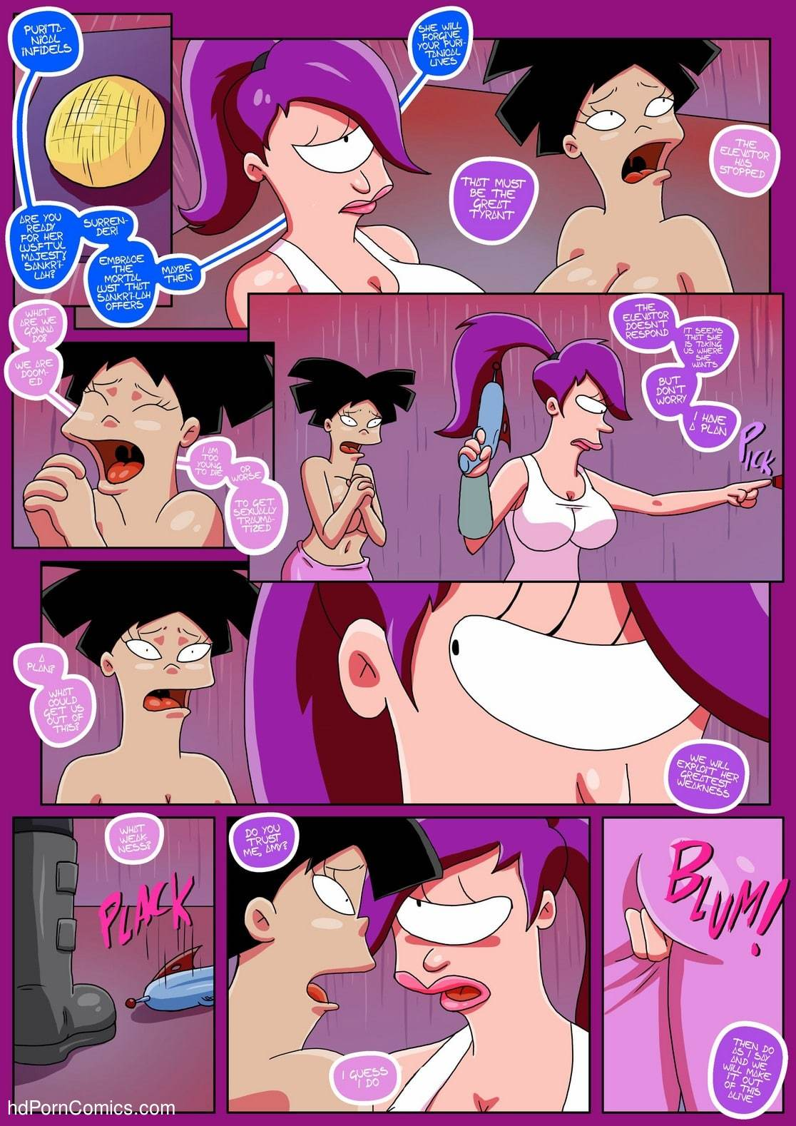 Futurama Sextopia9 free sex comic