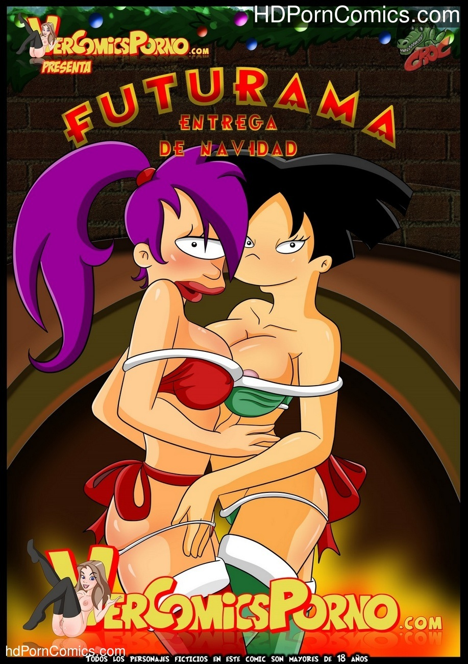 Futurama – Christmas Delivery Sex Comic