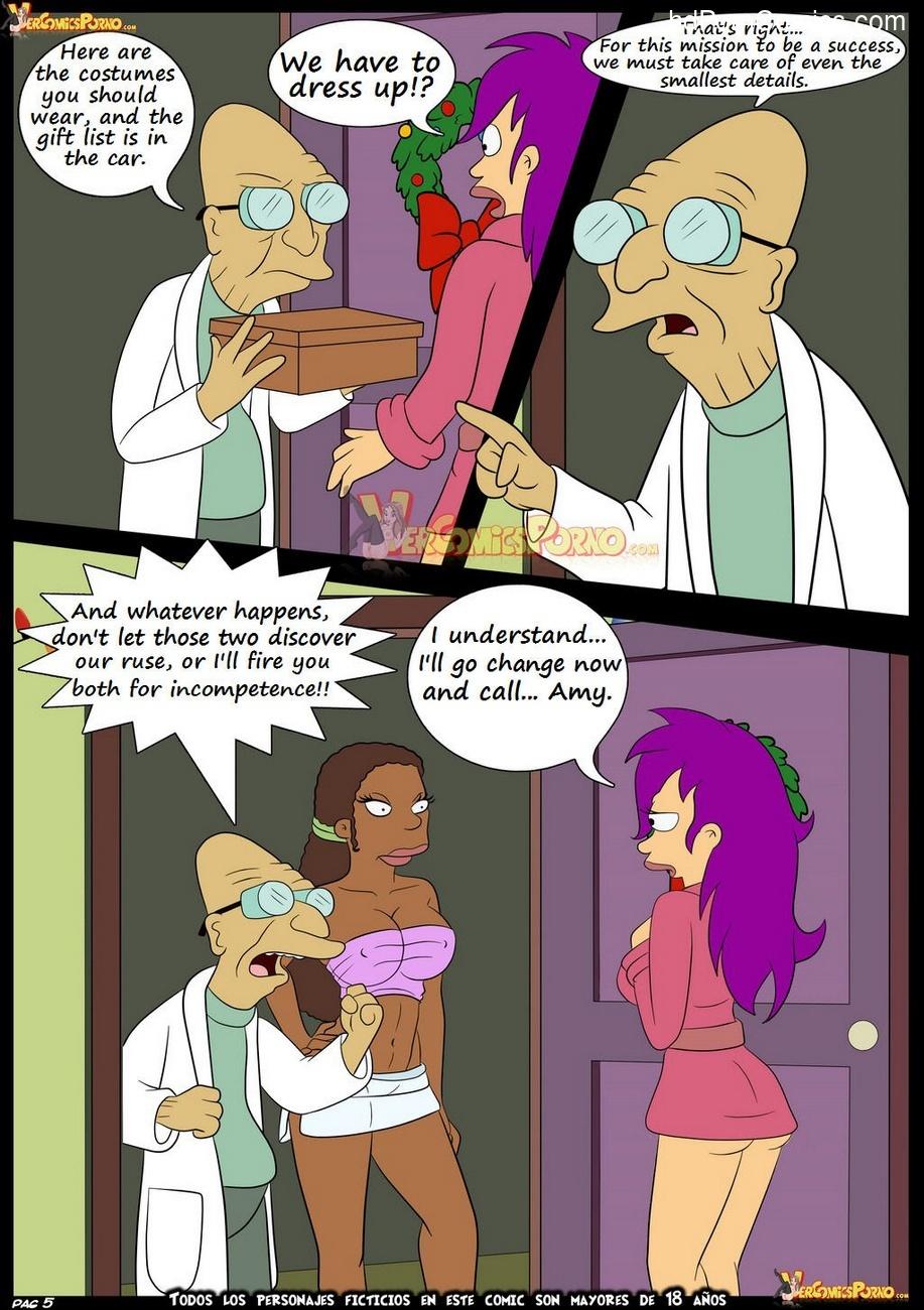 Futurama - Christmas Delivery 6 free sex comic