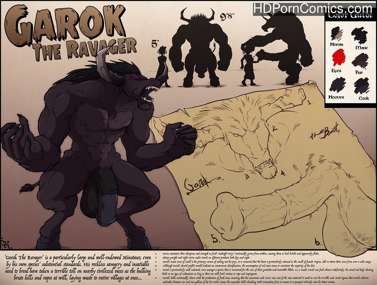 Garok The Ravager Sex Comic