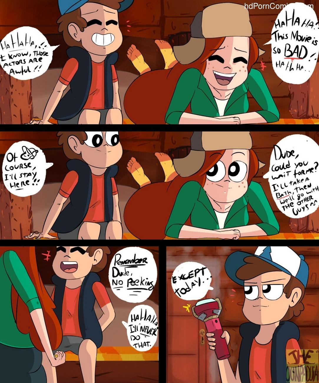 Gettin' Dipper 1 2 free sex comic