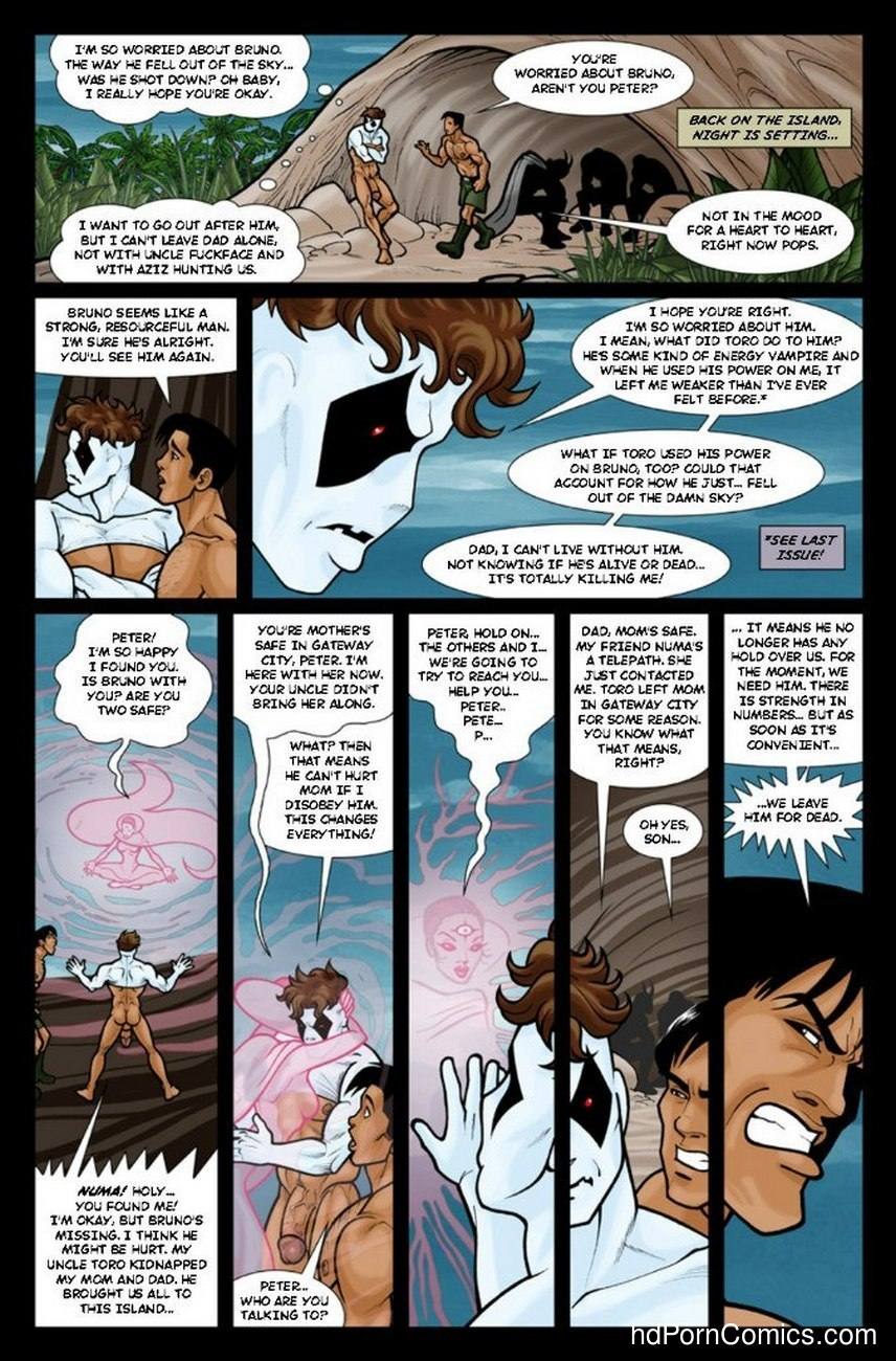 Ghostboy And Diablo 3 13 free sex comic