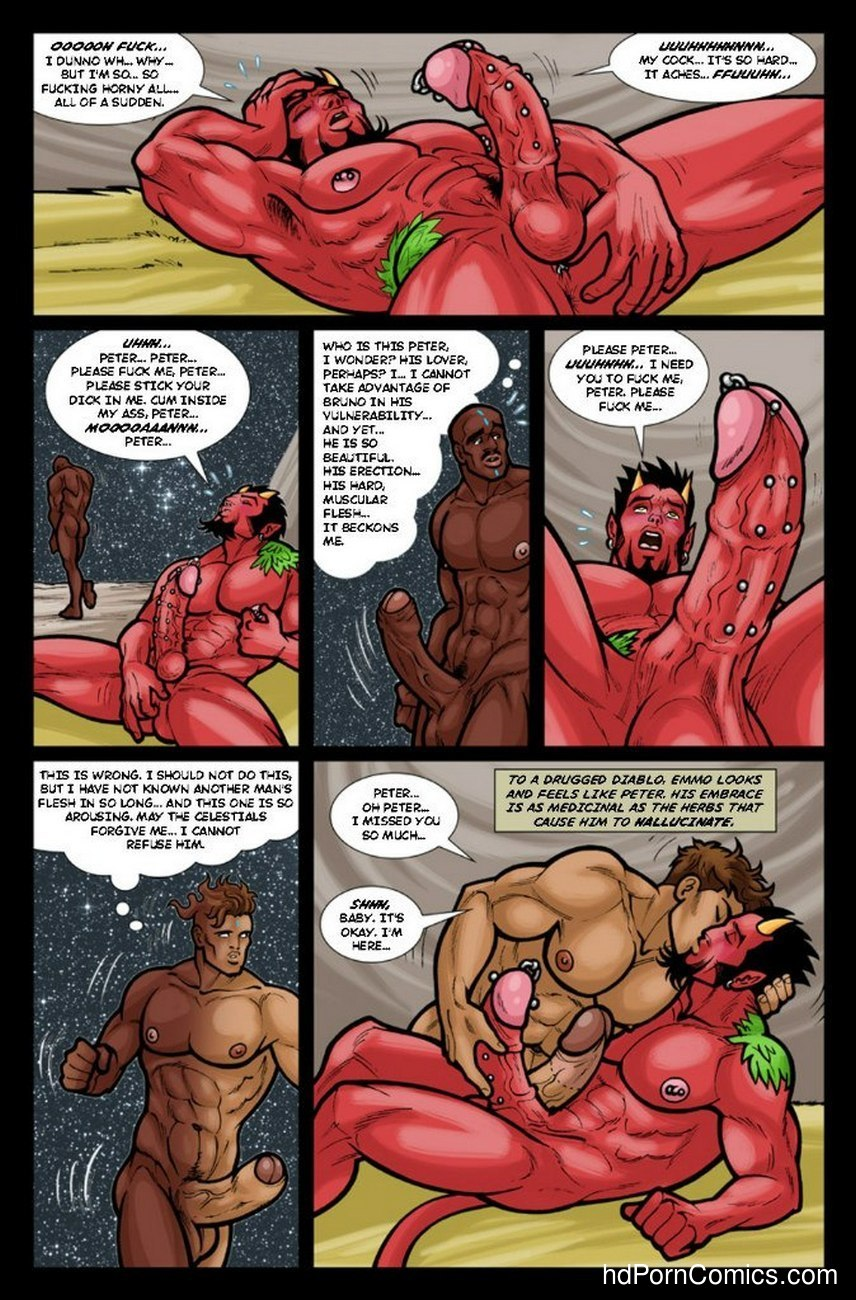 Ghostboy And Diablo 3 15 free sex comic
