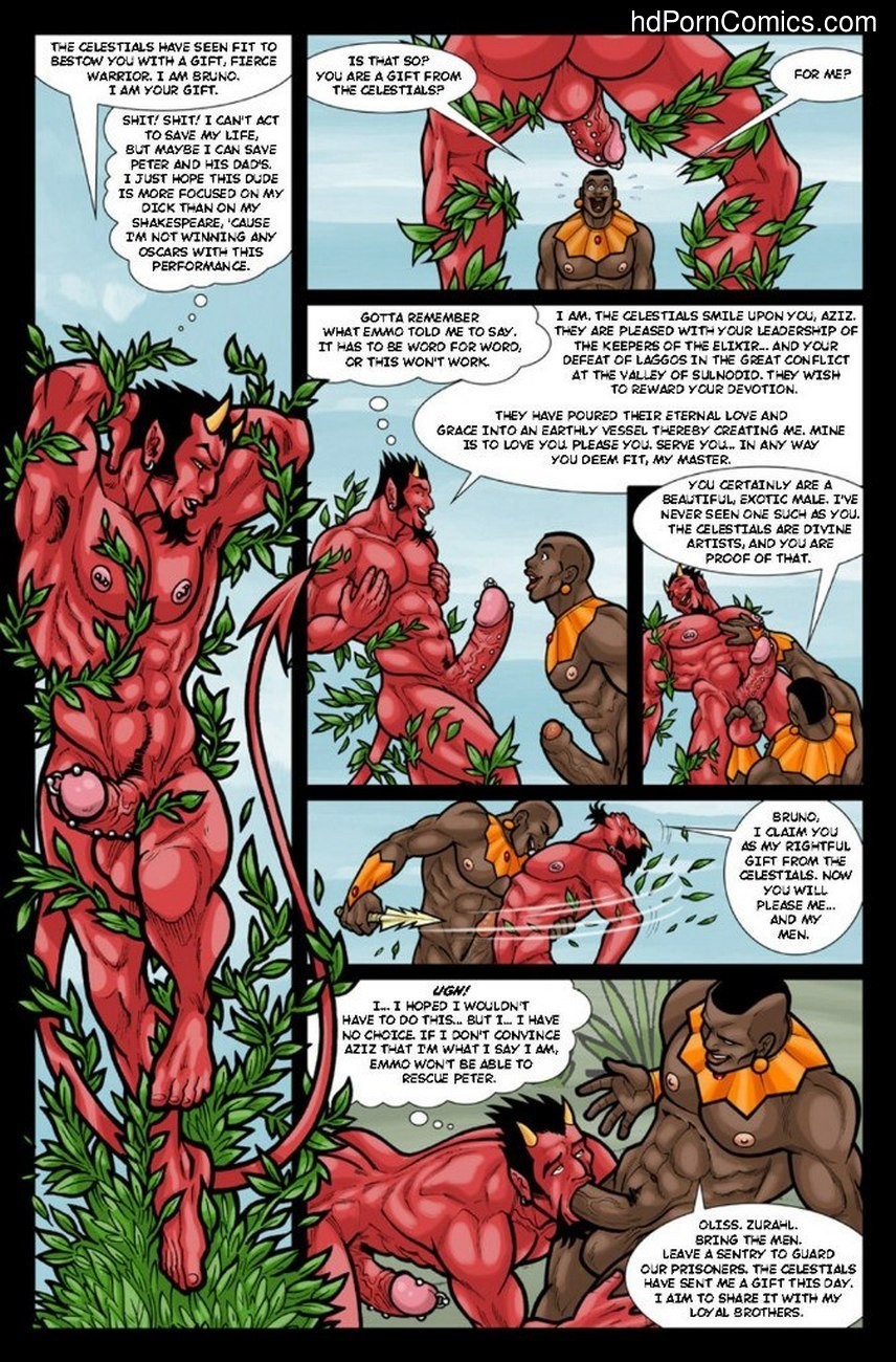 Ghostboy And Diablo 3 22 free sex comic
