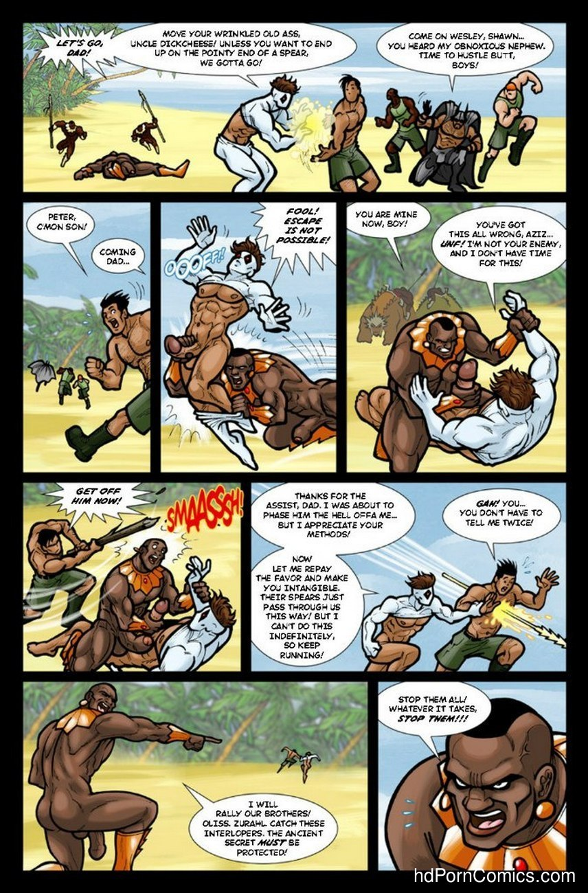 Ghostboy And Diablo 3 8 free sex comic