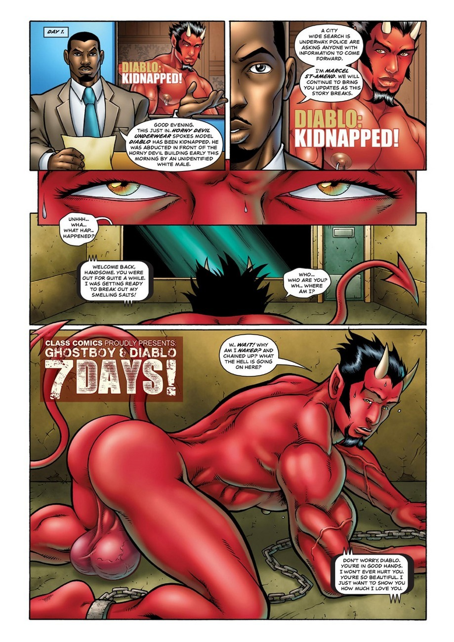 Ghostboy And Diablo - 7 Days 2 free sex comic