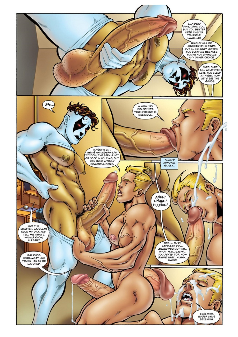 Ghostboy And Diablo - 7 Days 6 free sex comic