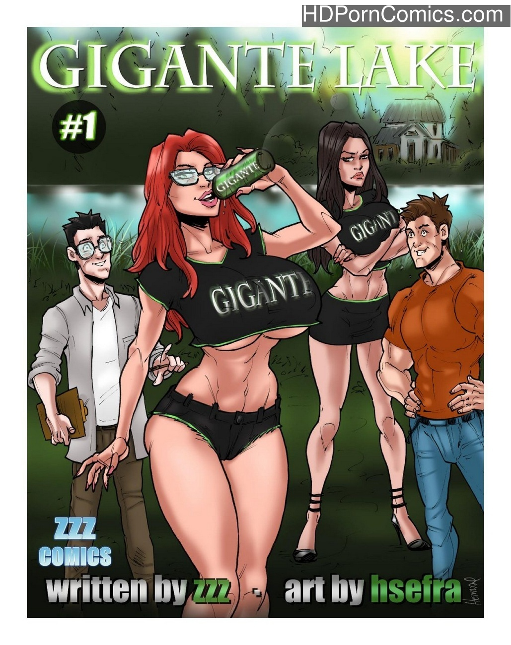Gigante Lake 1 Sex Comic
