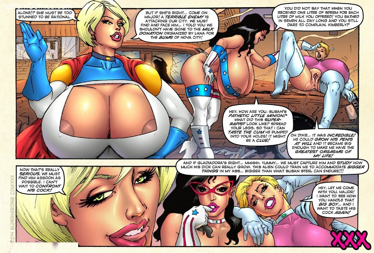 Gladiadora – Defending Nova City Sex Comic