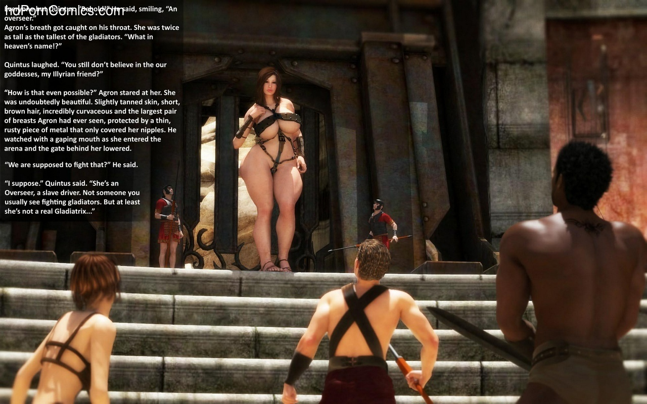 Goddesses Of The Arena 1 12 free sex comic