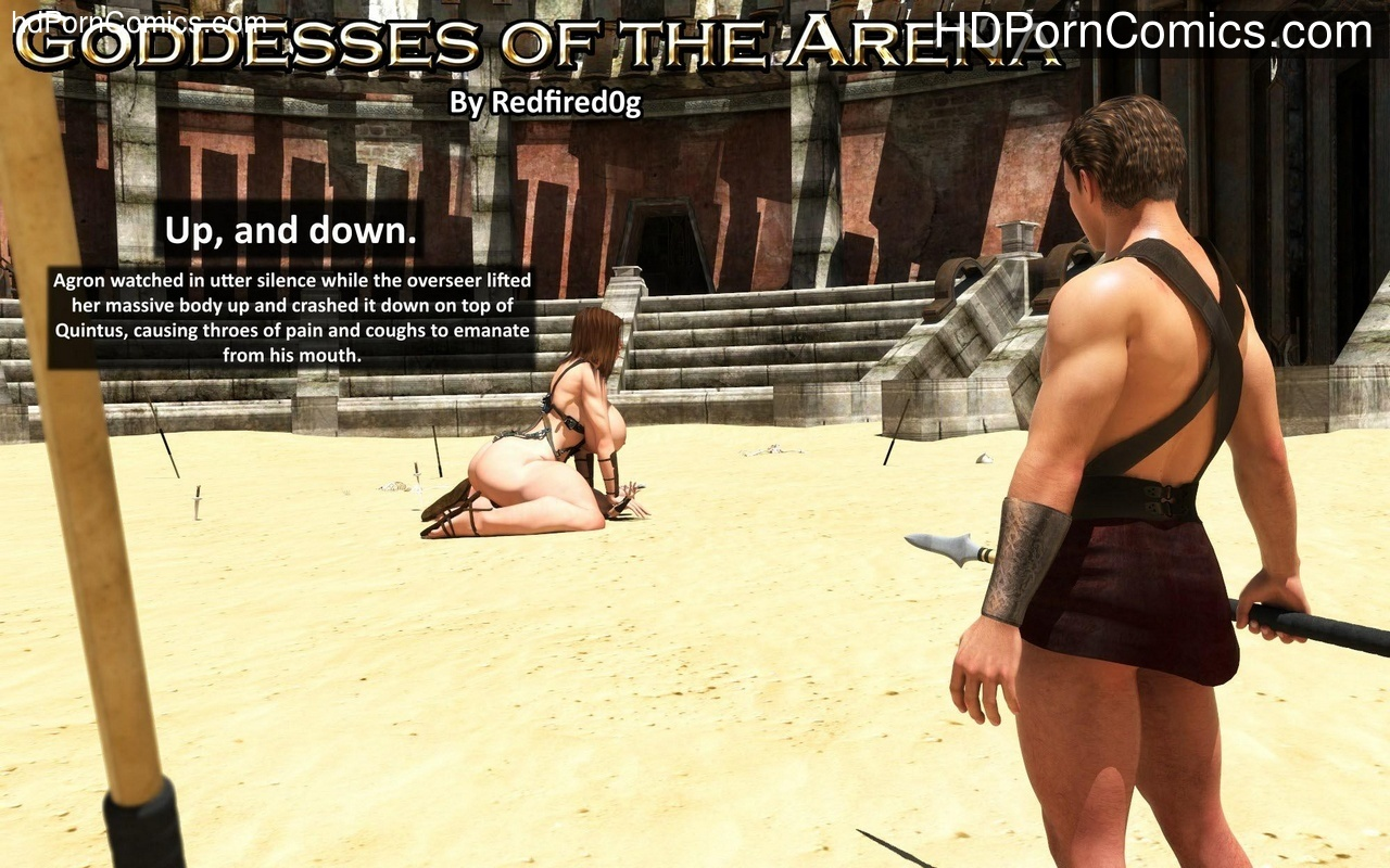 Goddesses Of The Arena 2 Sex Comic