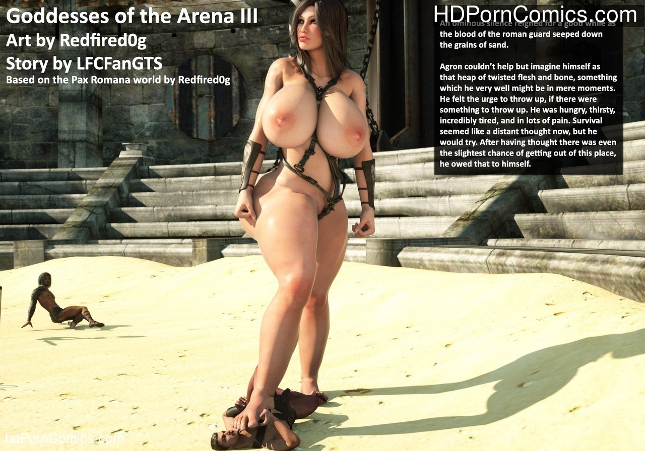 Goddesses Of The Arena 3 Sex Comic