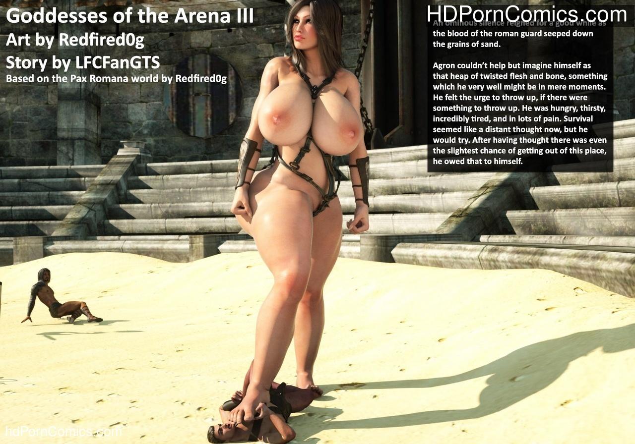 Goddesses Of The Arena 3 Sex Comic