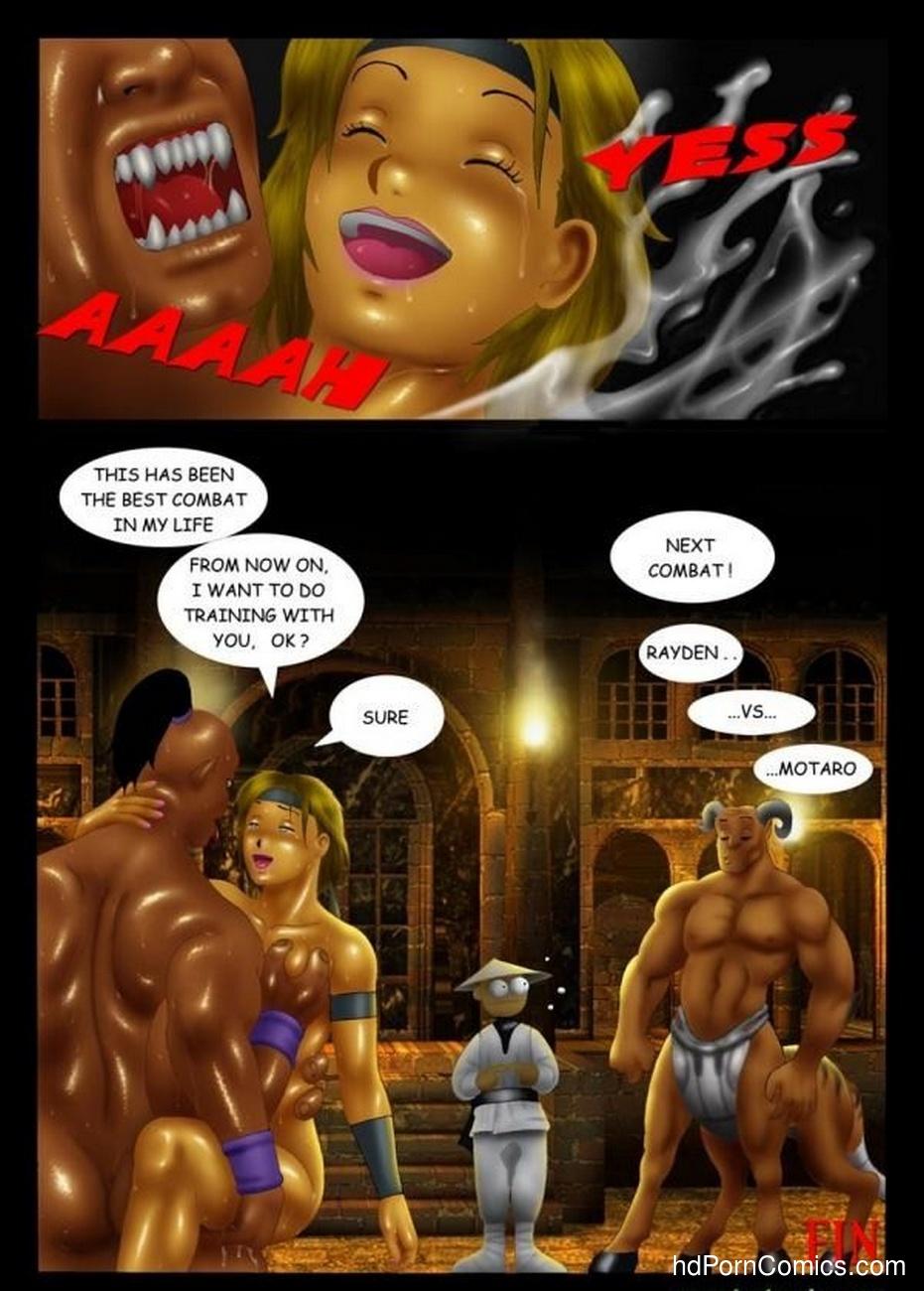 Goro vs Sonya 10 free sex comic