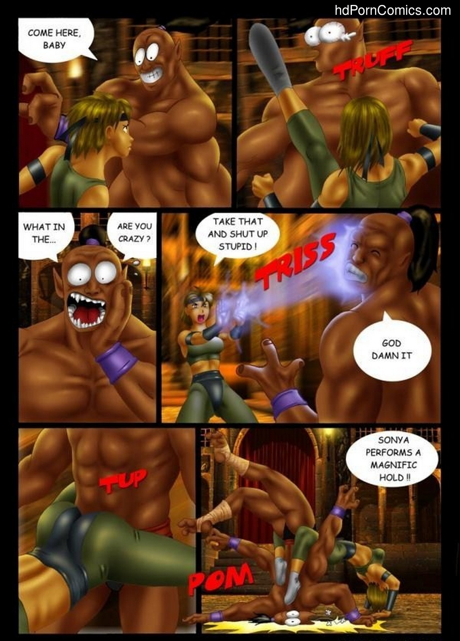 Goro vs Sonya 3 free sex comic