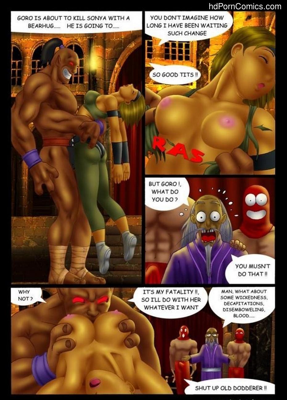 Goro vs Sonya 5 free sex comic