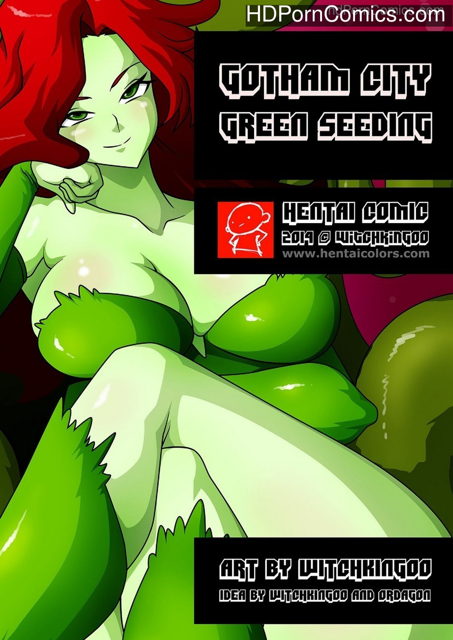 Gotham City 1 – Green Seeding Sex Comic