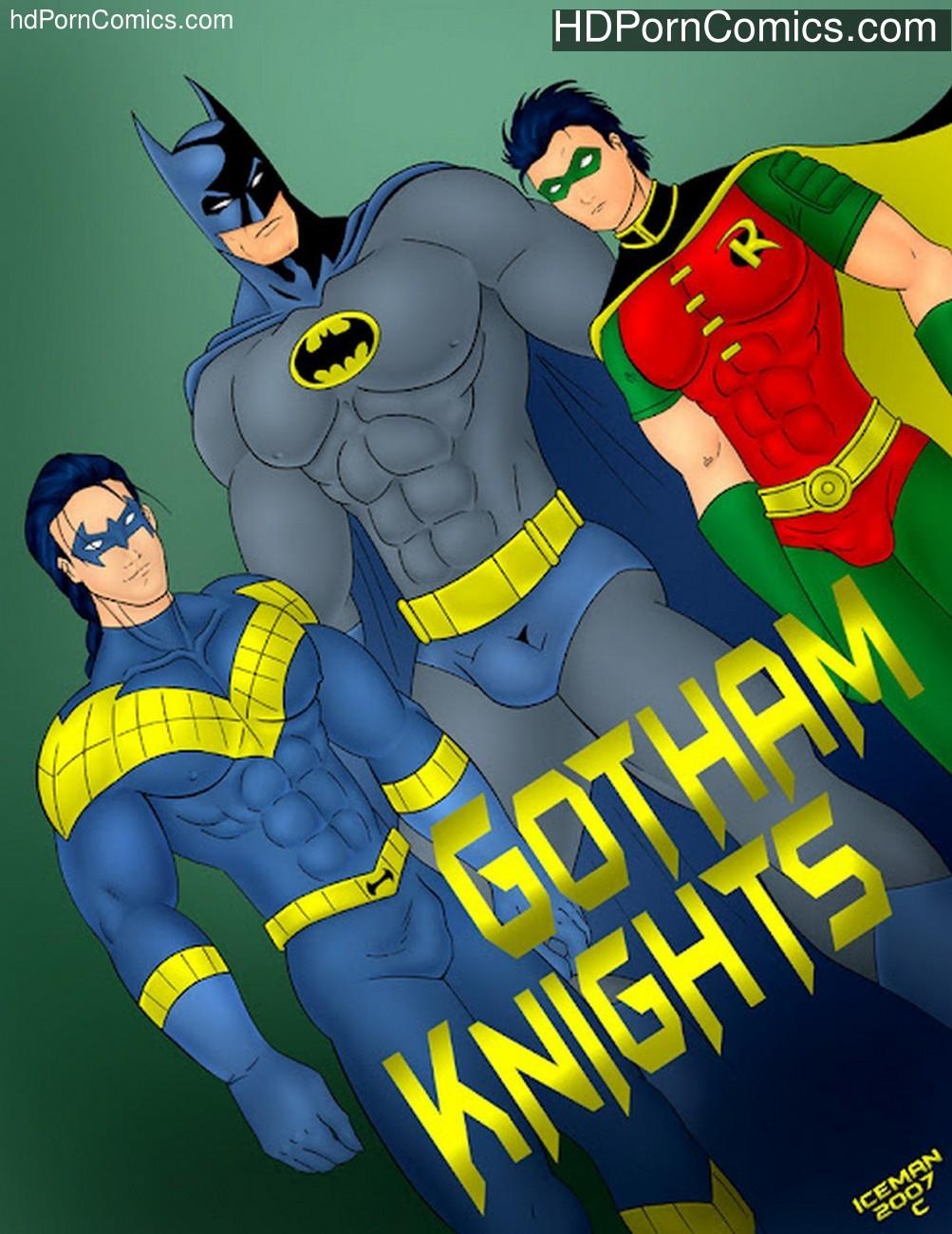 Gotham Knights Sex Comic