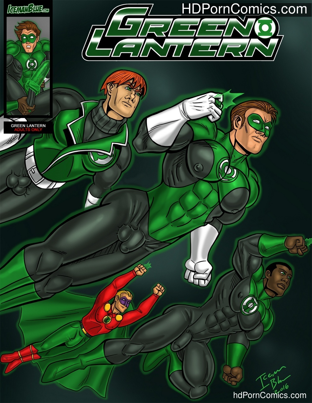 Green Lantern Sex Comic