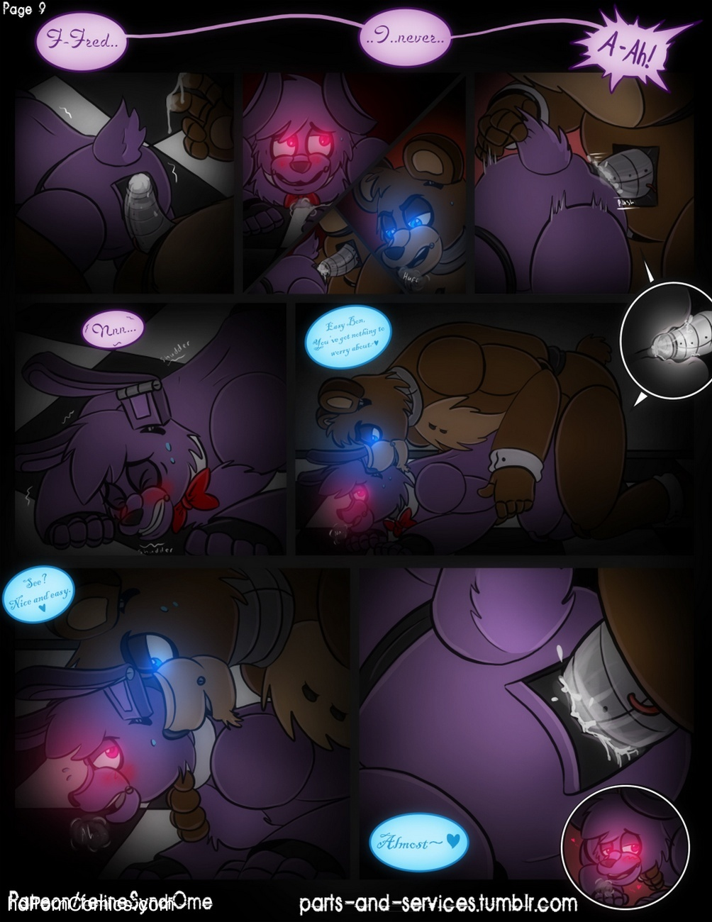 furry fnaf gay porn comic