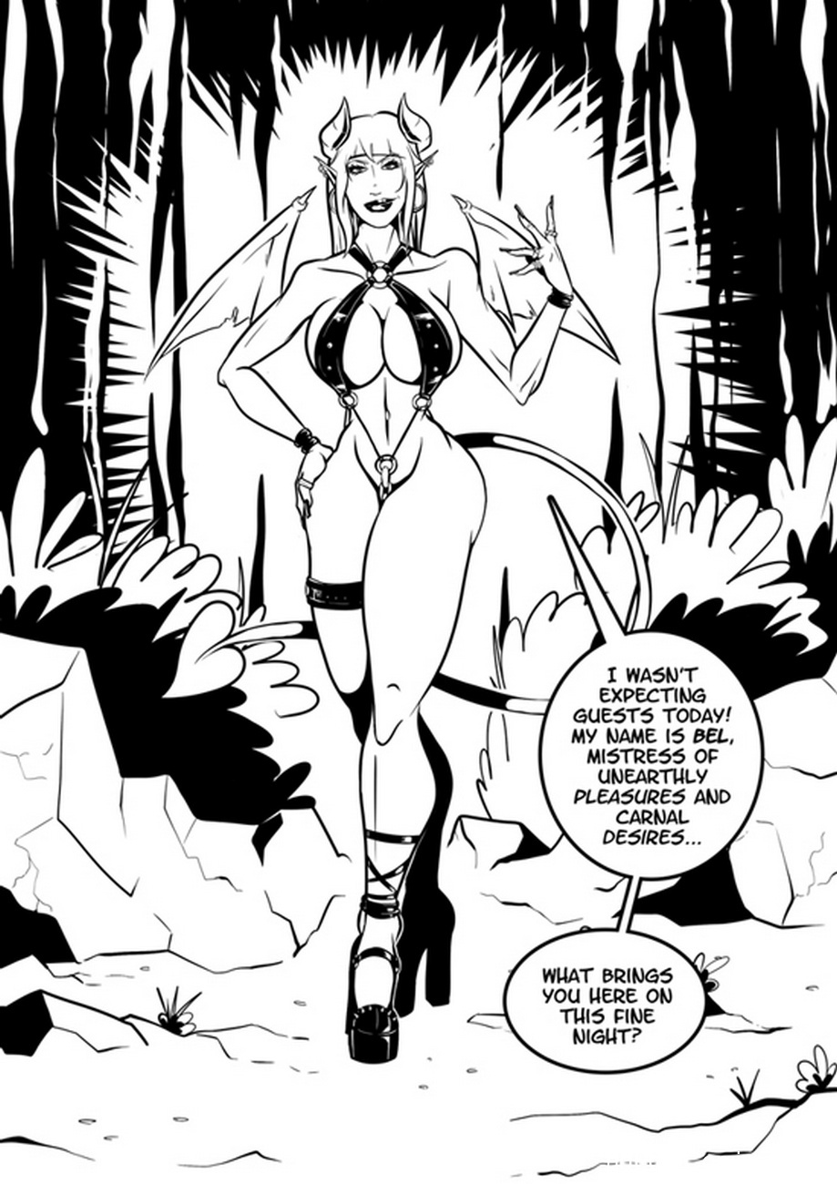 Hallowed And The Whore 4 free sex comic