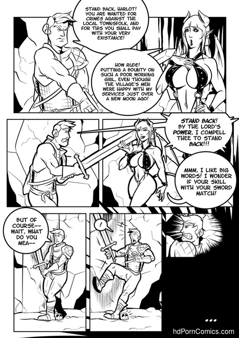 Hallowed And The Whore 5 free sex comic