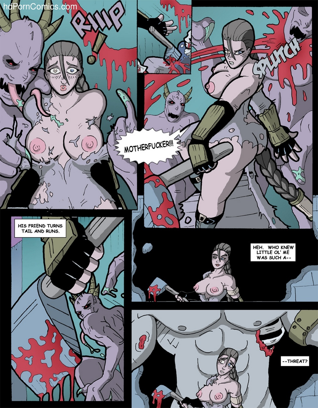 Hammered 1 3 free sex comic