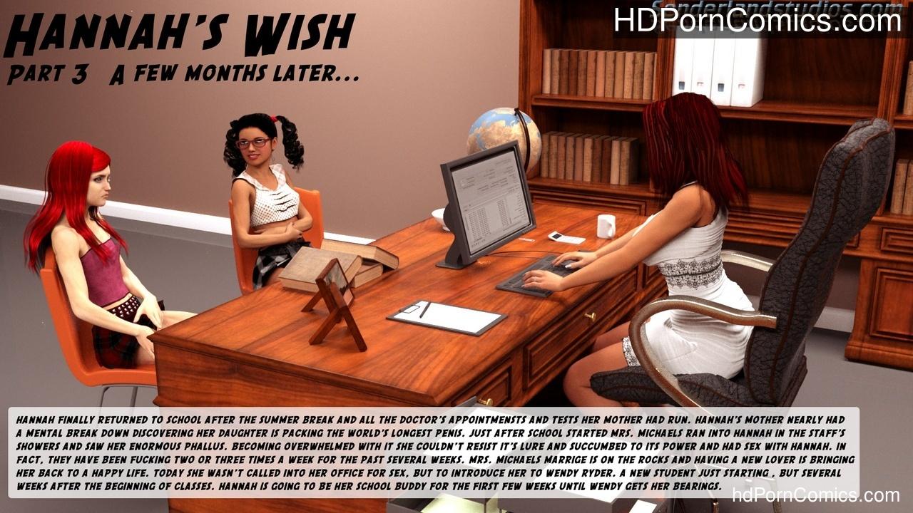Hannah's Wish 3 1 free sex comic