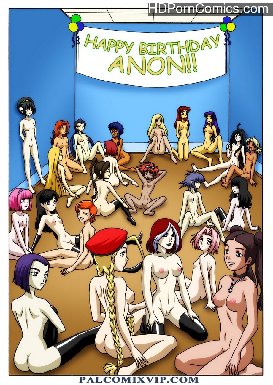 Happy Birthday Anon Sex Comic