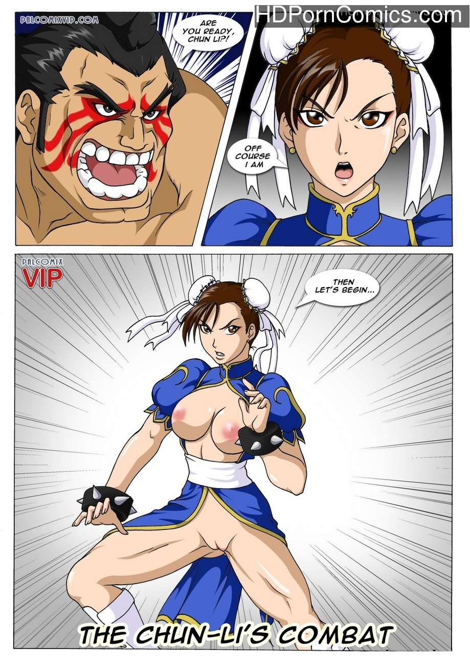 Hard Training Sex Comic