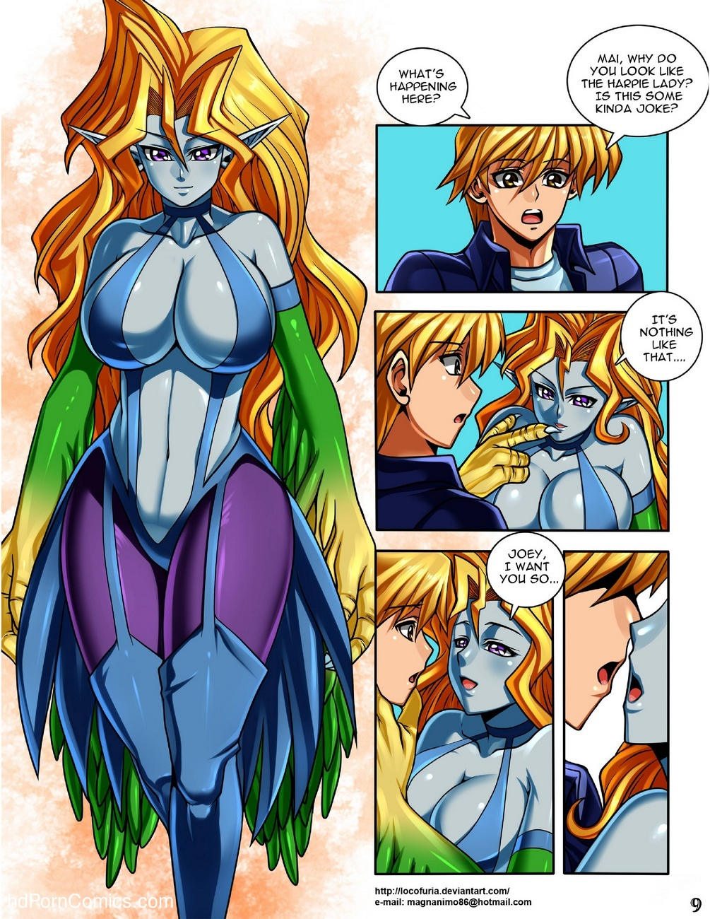 Harpie's World 10 free sex comic
