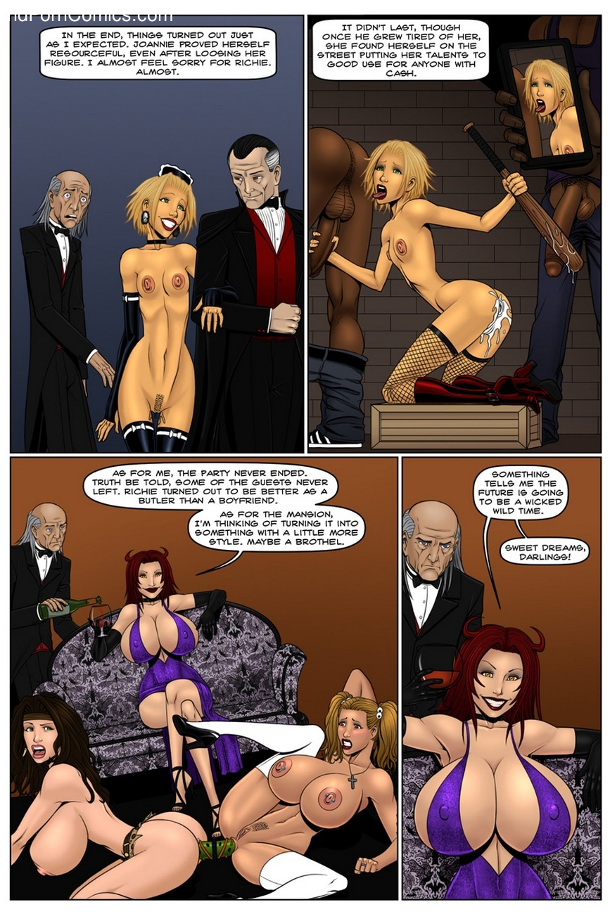 Hell Hath No Fury Sex Comic