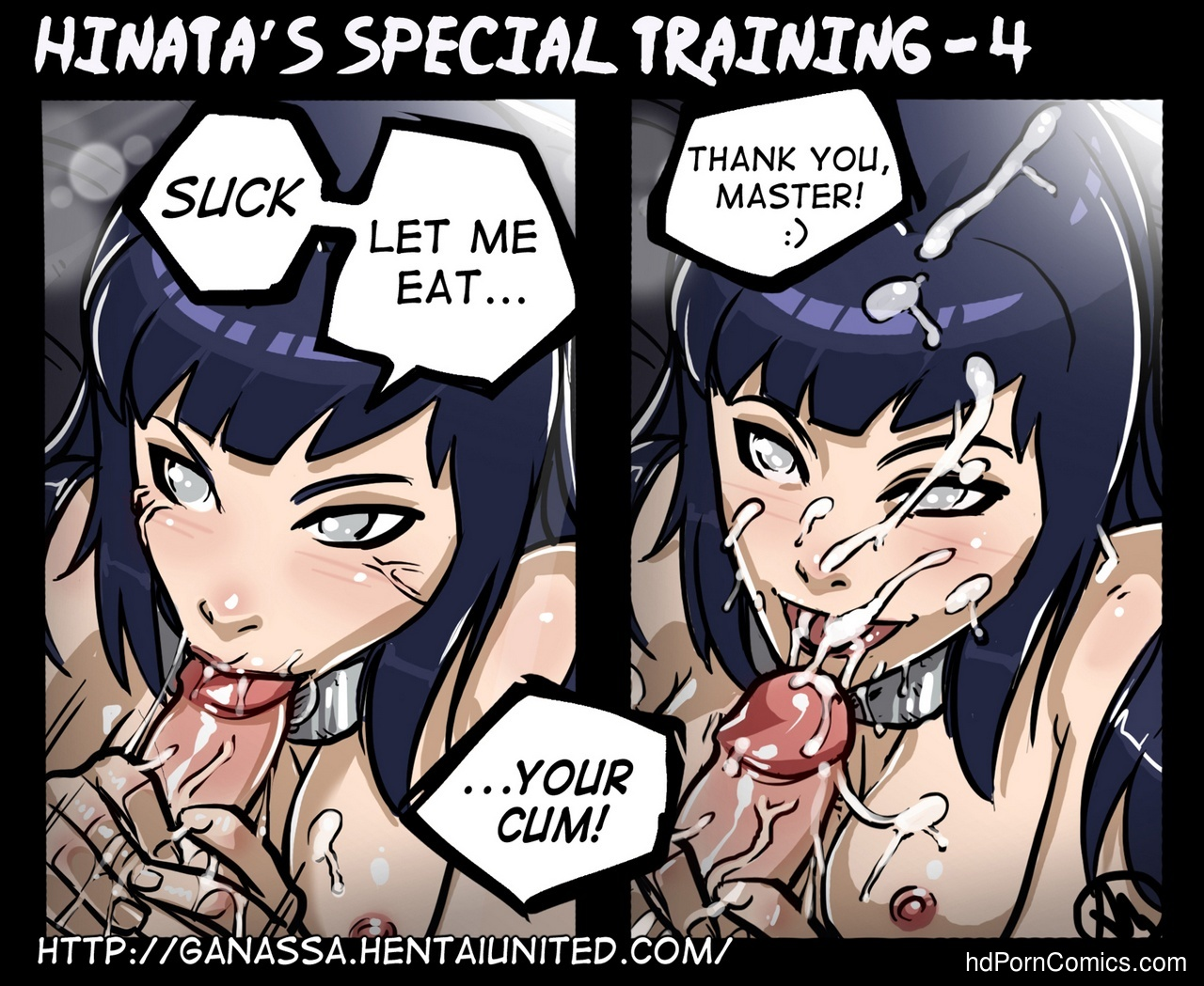 Hinata's Special Training 5 free sex comic