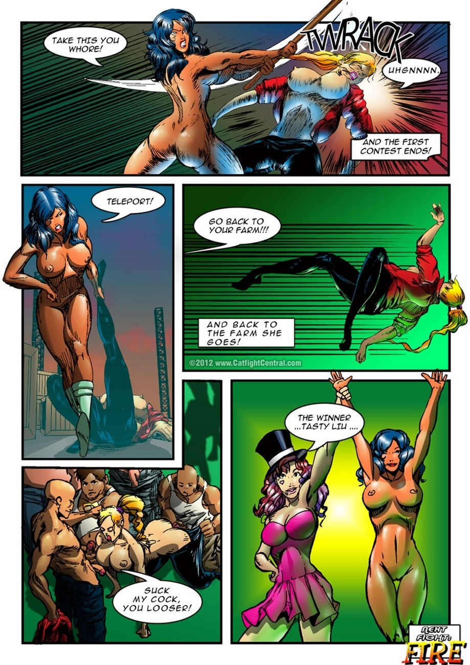 Hipersex Arena 1 – Water Sex Comic