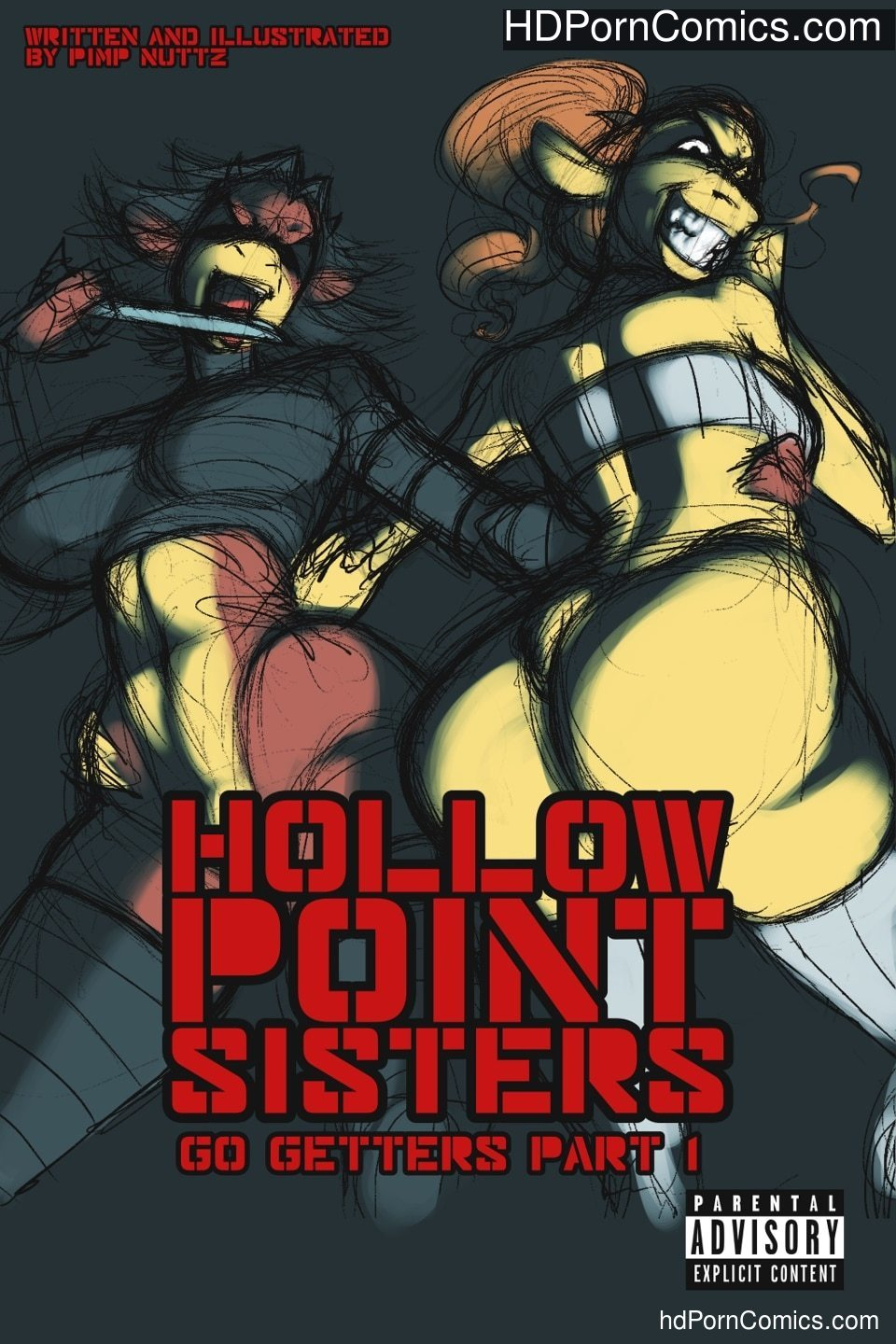Hollow Point Sisters free Porn Comic