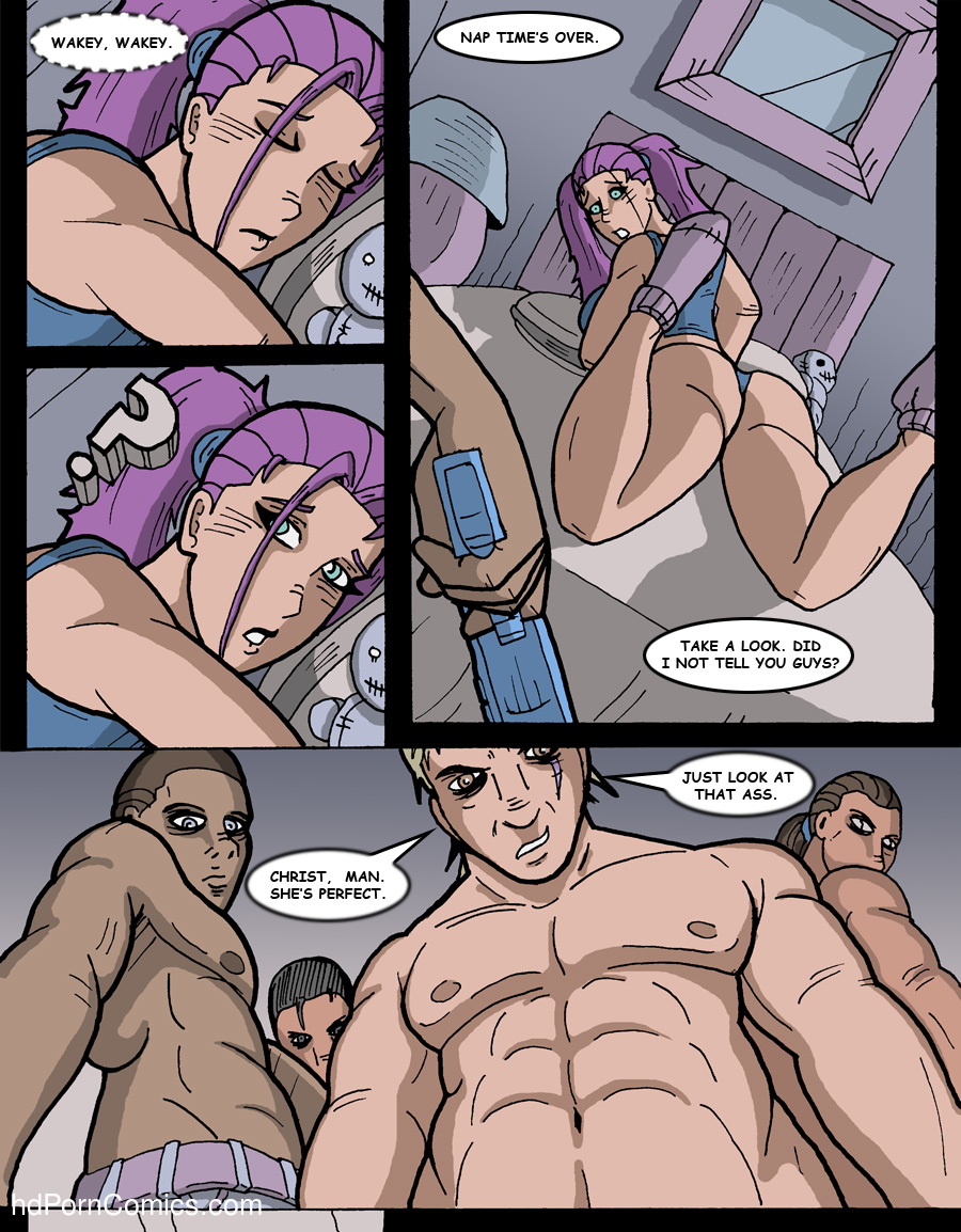 Interracial Rape Cartoons Stunning hombre-blanco – midnight rape party free cartoon porn comic - hd