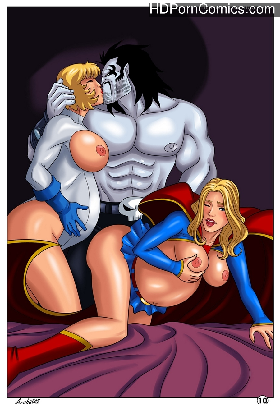 Horny Superheroines Sex Comic