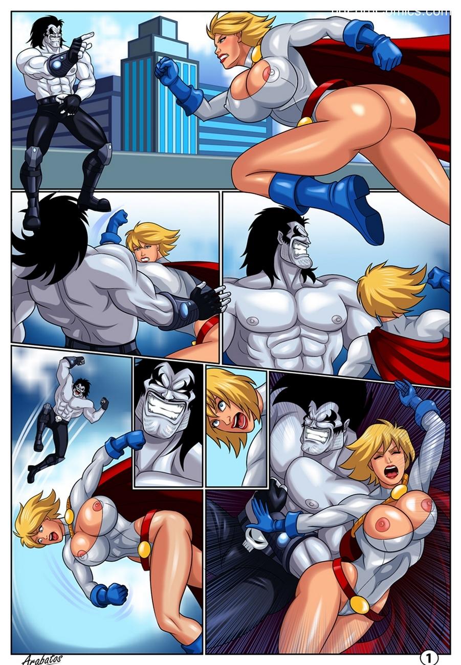 Power Girl Hentai Comics