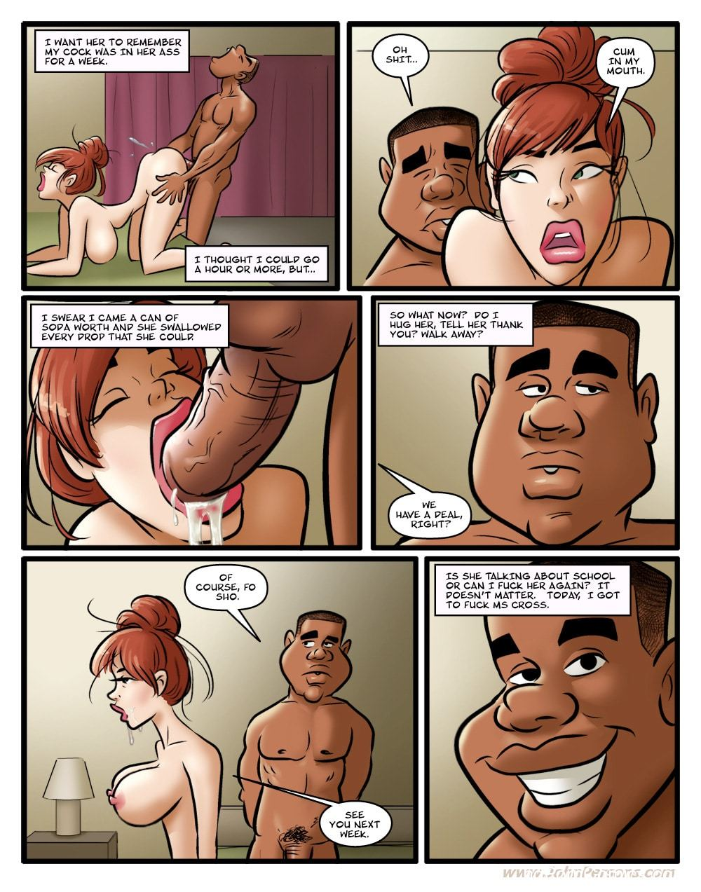 Hot For MS. Cross free Porn Comic