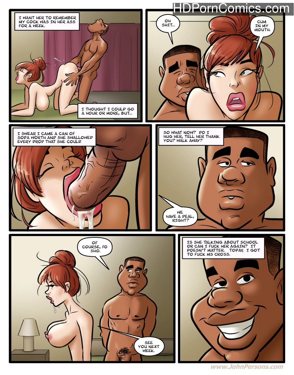 Hot For Ms Cross 1 11 free sex comic