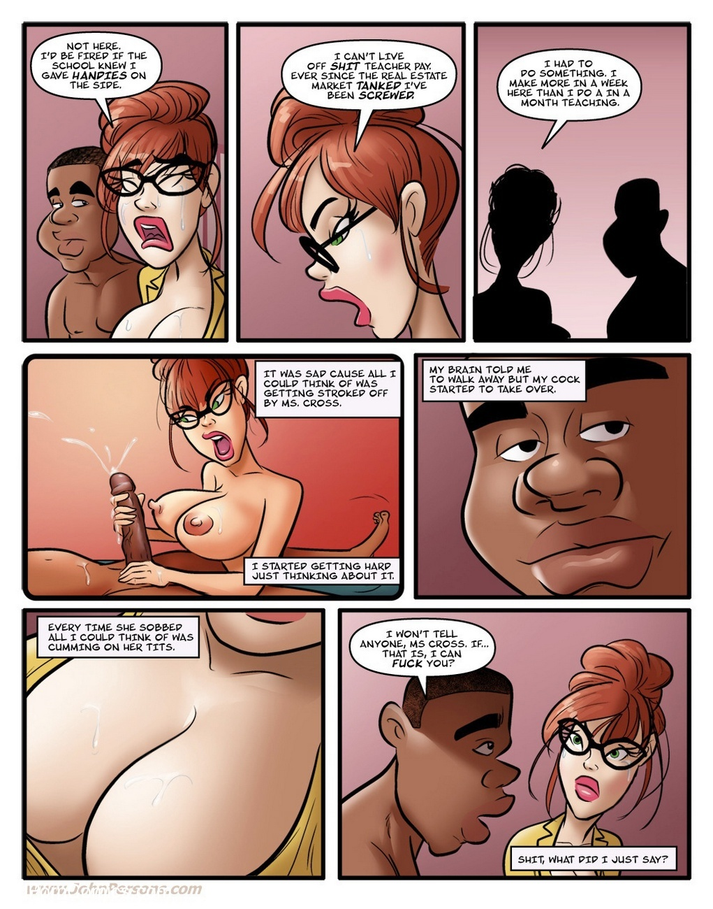 Hot For Ms Cross 1 5 free sex comic