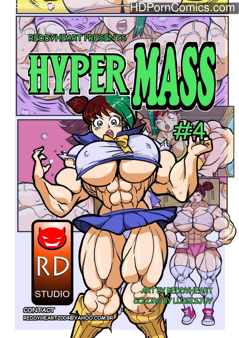 Hyper Mass 4 Sex Comic